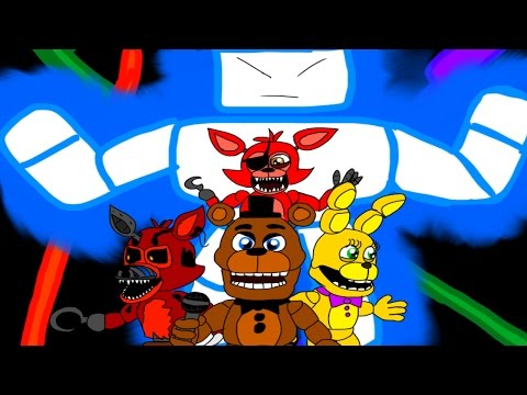FNAF WORLD SONG (I WILL NOT BE MOVED) - DAGames ANIMATION