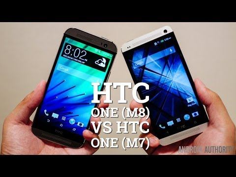 HTC One (M8) vs HTC One (M7) - Quick Look