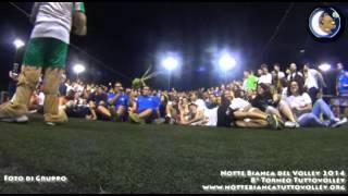 20-07-2014: Foto di gruppo alla Notte Bianca del Volley 2014