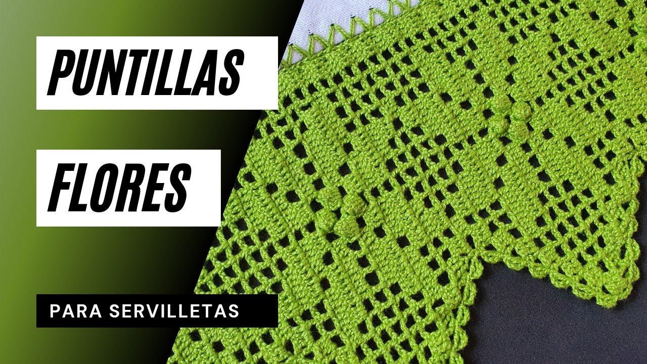 ☘️ Puntillas para Servilletas y Toallas. #Shorts