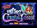 **BONUS TIME** Crystal Forest Slot Machine