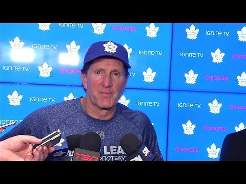 Maple Leafs Practice: Mike Babcock - October 26, 2018