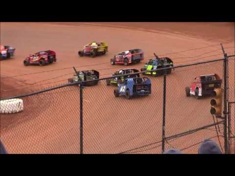 Mod-Lite Heat #3 from 411 Motor Speedway, December 31st, 2016.