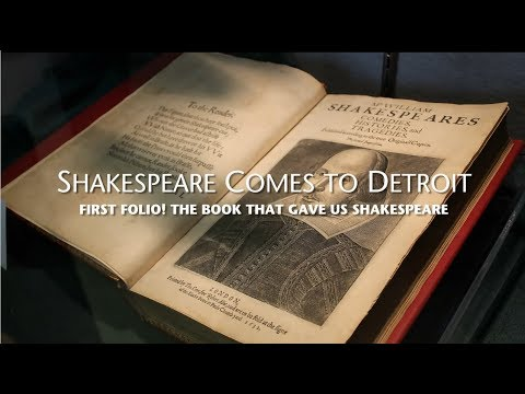 Shakespeare's First Folio: the book that gave us SHAKESPEARE