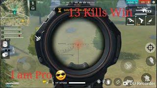 FREE FIRE ! Most Kill Wins Best pro Gameplay 13 Kills win squad
