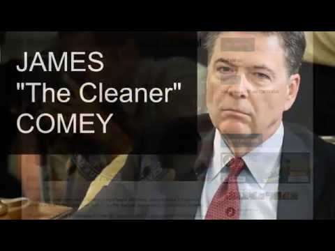 BOMBSHELL: THE CLINTON CARTEL EXPOSED Pt 2 - James THE CLEANER Comey