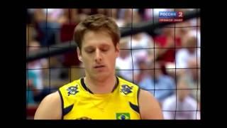Нарезка повторов.Slow motion.Волейбол.Мировая лига 2011.Финал.Бразилия-Россия