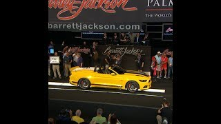 Barrett-Jackson Palm Beach - Mustang Auction For The Wounded Warrior Project