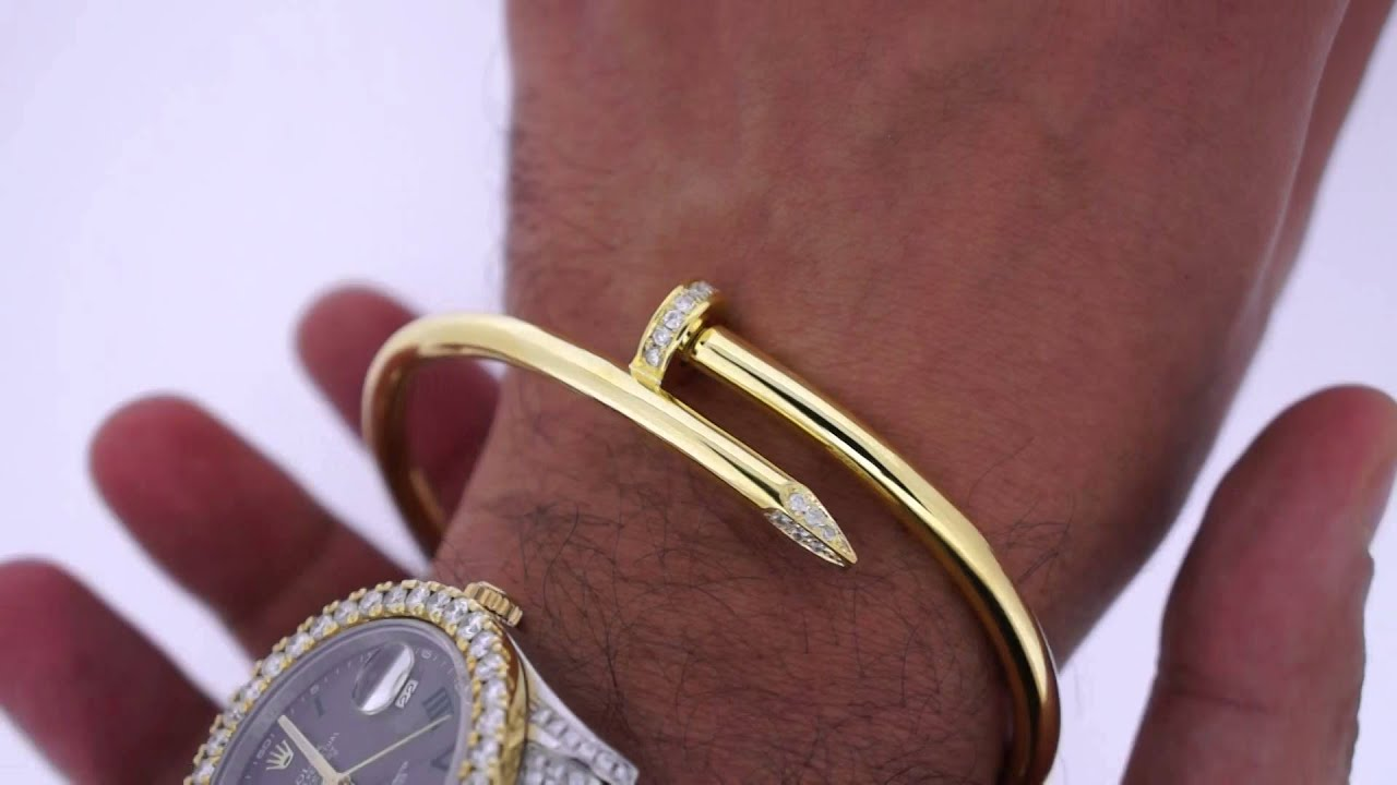 thick carat asaar style twisted gold solid bangles yellow cartier bracelet grams watch bangle nail