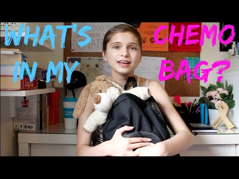 What's in my chemo bag? | TeamEllie