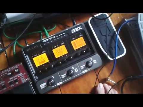 Zoom G3X - My 3min Review - Guitar Pedal Tone - Music Gear www.ralphe.co.nz