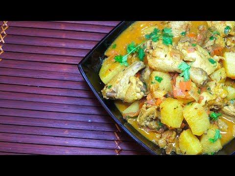 🔴 Best Chicken Curry - How to make Chicken Curry - Chicken Potato Curry - Chicken Massala