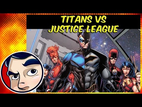 "Titans Or the Justice League ""Legacy"" - Rebirth Complete Story"