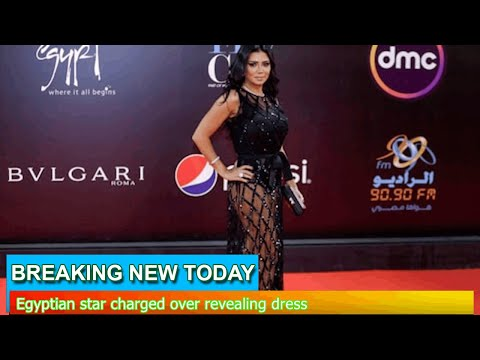 Breaking News - Egyptian star charged over revealing dress