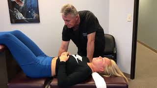 Texas High School Cheerleader Gets Her First Whole Body Adjustment By Houston Chiropractor Dr J