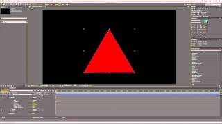 How to Make a Triangle in After Effects
