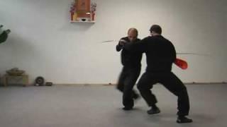 Kung Fu im traditionellen 'Süa Lag Hang'-Stil der thailändischen Wandermönche