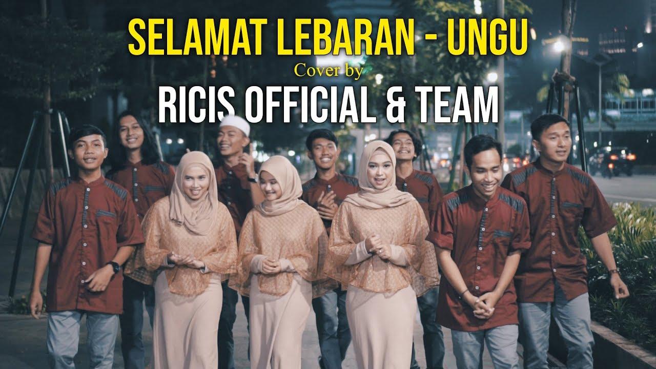 Ricis Official Team Cover Selamat Lebaran Ungu Youtube