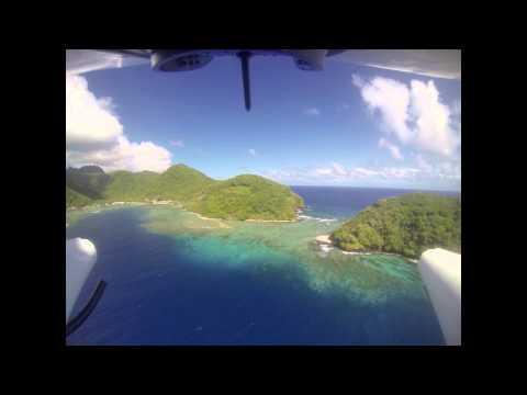 Flying American Samoa