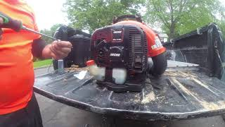 HOW TO Replace Primer Bulb and Recoil on Echo PB770H 770T Backpack Blower