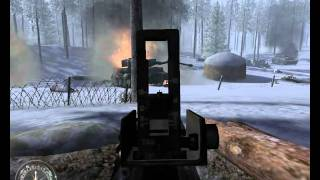 """Call of Duty 1: United Offensive"",full walkthrough on Veteran, Part 1 - U.S. Campaign: Bois Jacques"