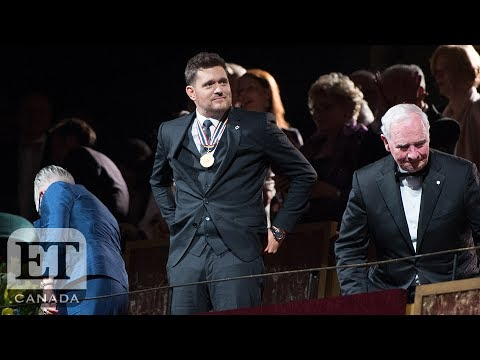 Michael Buble Honoured At Governor General's Awards