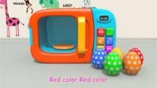 Finger Family Song | Learning colors for kids