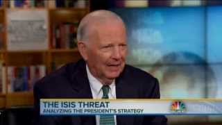 James A. Baker, III Speaks to Meet the Press about ISIS