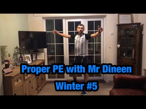 Proper PE with Mr Dineen - Winter #5 (Inside Out Day Special)