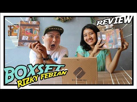 RIZKY FEBIAN BIKIN ALBUM KEREN BANGET | UNBOXING BOXSET RIZKY FEBIAN - JEJAK
