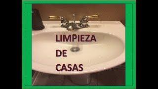 COMO-LAVAR-EL-LAVAMANOS/LAVABO-DEL-BAÑO-LIMPIEZA-DE-CASAS--