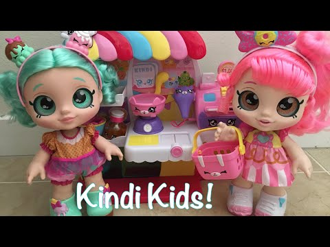 NEW Kindi kids Shopkins dolls!!