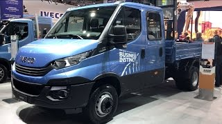 Iveco Daily Dumper 2017 In detail review walkaround Interior Exterior