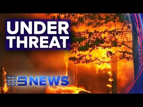 Residents Warned To Leave As Fires Threatens Queensland Homes | Nine News Australia
