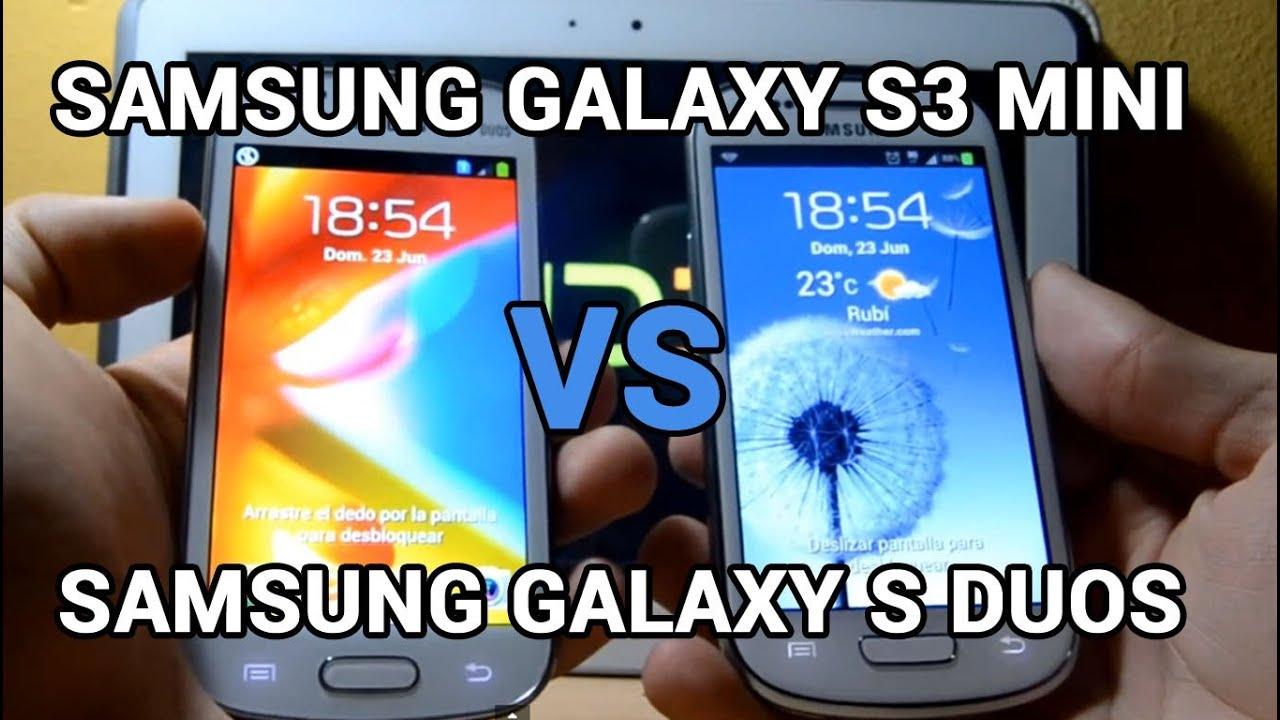 Samsung Galaxy S3 Mini vs Samsung Galaxy S Duos ...  Samsung Galaxy ...