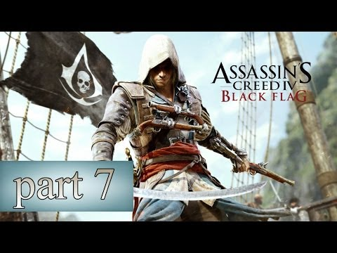 Assassins Creed 4: Black Flag - Part 7 - Recruit Pirates & Steal the Ship (Xbox One Walkthrough)