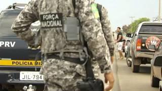 Experiências de militares da Força Nacional são repassadas a novos integrantes da operação