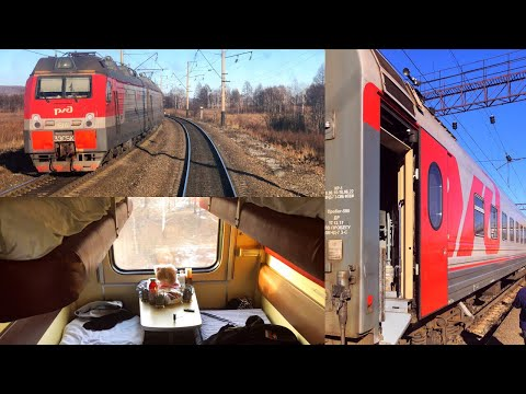 Trans-Siberian Railway Winter Journey - part 1: Vladivostok - Belogorsk on Train № 007НЭ