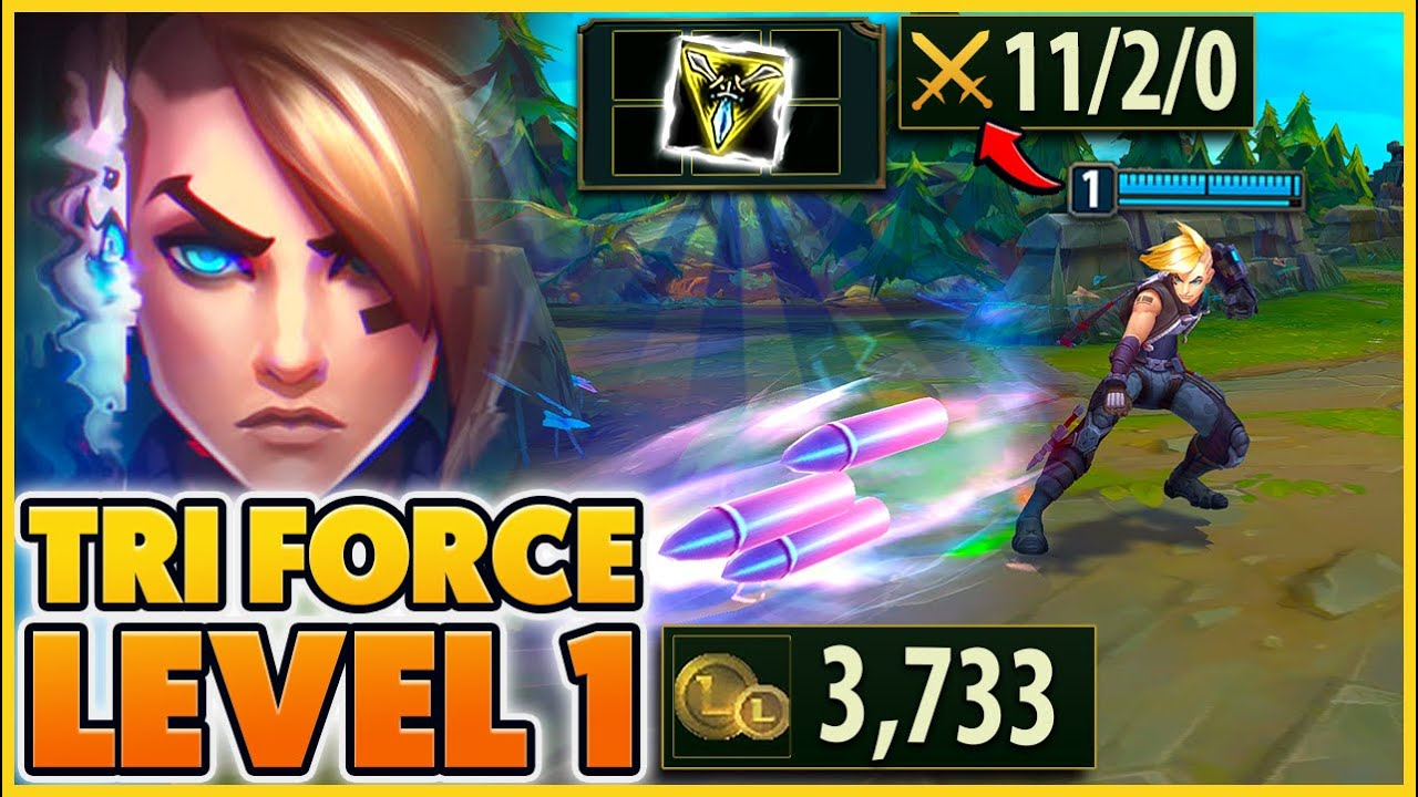 I get 3,733 GOLD LEVEL ONE! So I Bought a Trinity Force - BunnyFuFuu | League of Legends