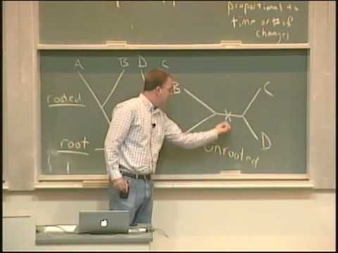 Lecture 24. Phylogenetics (Biology 1B, Fall 2010, UC Berkeley)