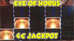 Eye of Horus JACKPOT auf 4€ FANPOST - Freispiele in der Merkur Magie Spielothek HD