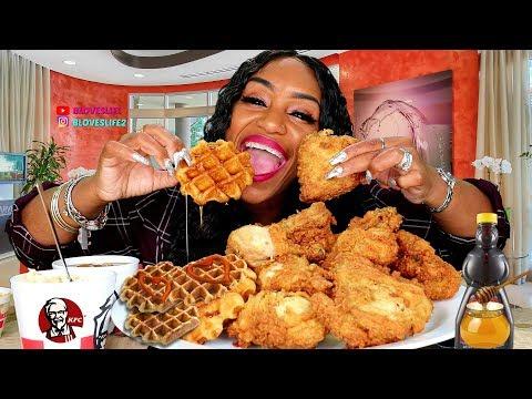 KFC NEW CHICKEN & WAFFLES