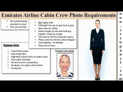 Emirates cabin crew photo requirements for Females | Emirates cabin crew online assessment tips