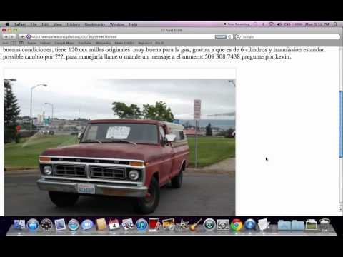 Craigslist Wenatchee WA Used Cars - For Sale by Owner