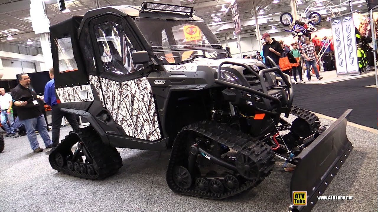 2019 cfmoto u force 800 winter edition utility atv walkaround 2018 toronto atv show youtube. Black Bedroom Furniture Sets. Home Design Ideas