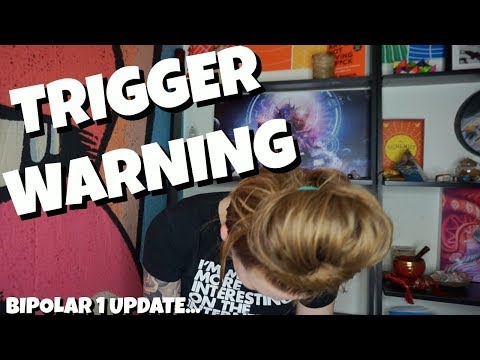 TRIGGER WARNING - BIPOLAR 1 UPDATE - MANIA INDUCED PSYCHOSIS?  (W/LIVE FOOTAGE)