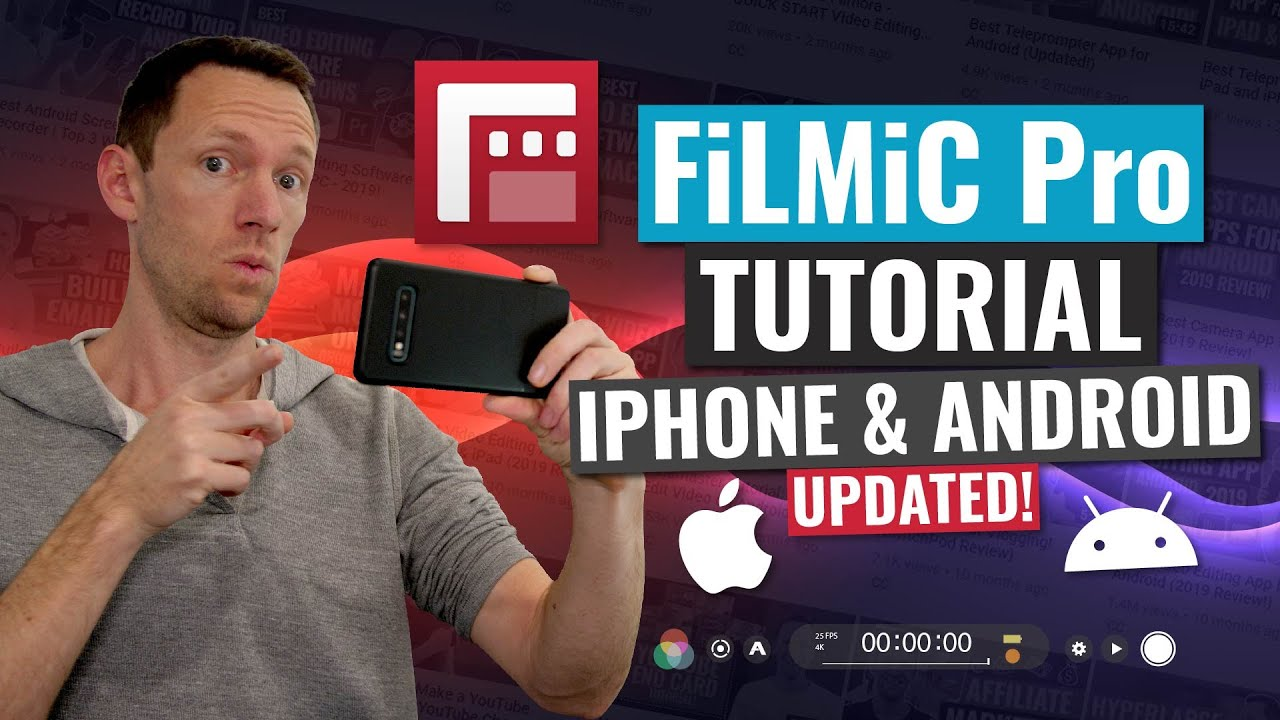 FiLMiC Pro Tutorial (UPDATED): Shoot PRO Video with iPhone and Android!