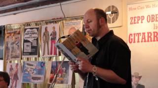 Zepp Oberpichler liest 33 1/3 Jahre LSD in Duisburg.mp4