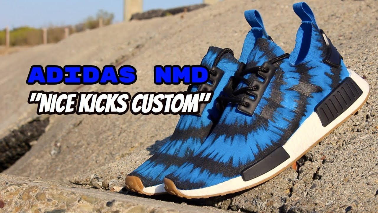 01dec0bcc NMD Nice Kicks Custom - YouTube