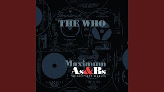 Provided to YouTube by Universal Music Group Old Red Wine · The Who...